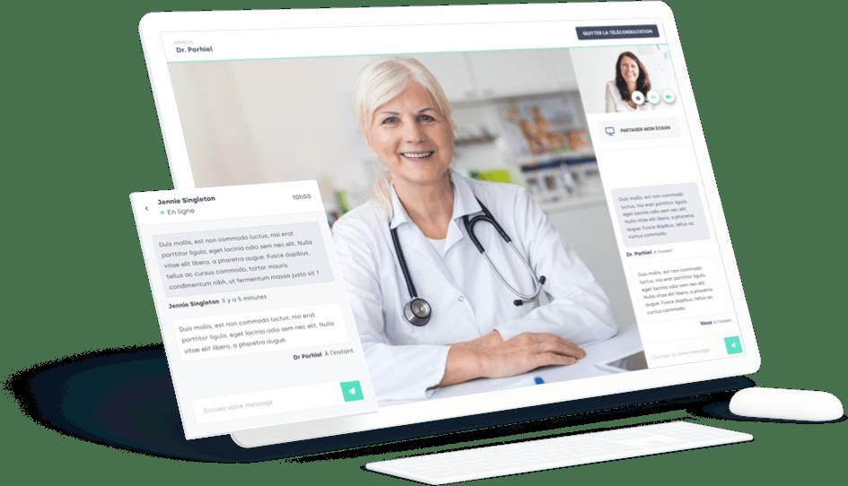 UI consultaway - medecin